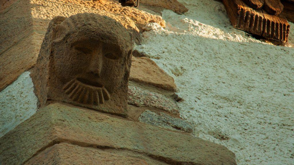 Kamienna twarz Mongoła