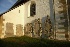 Barokowe płyty epitafijne laborantów